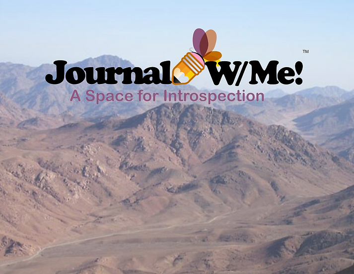Journal W/ Me - 5 Days Towards Renewing your Mind