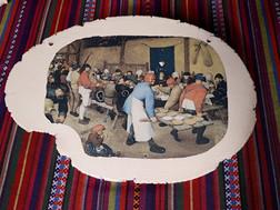 breugel op keramiek 35€