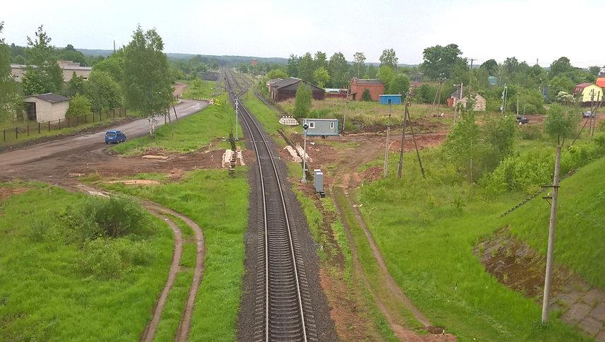 АПС-Пт, АПС, автоматическая переездная сигнализация, стройка, строительство, временный переезд, железнодорожный переезд, ж/д переезд, жд переезд