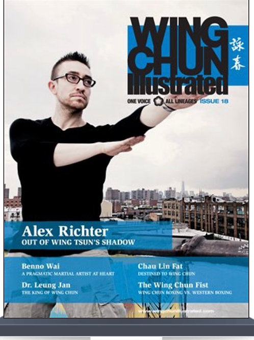 Wing Chun Illustrated, Issue 18 - Signed by Sifu Alex Richter