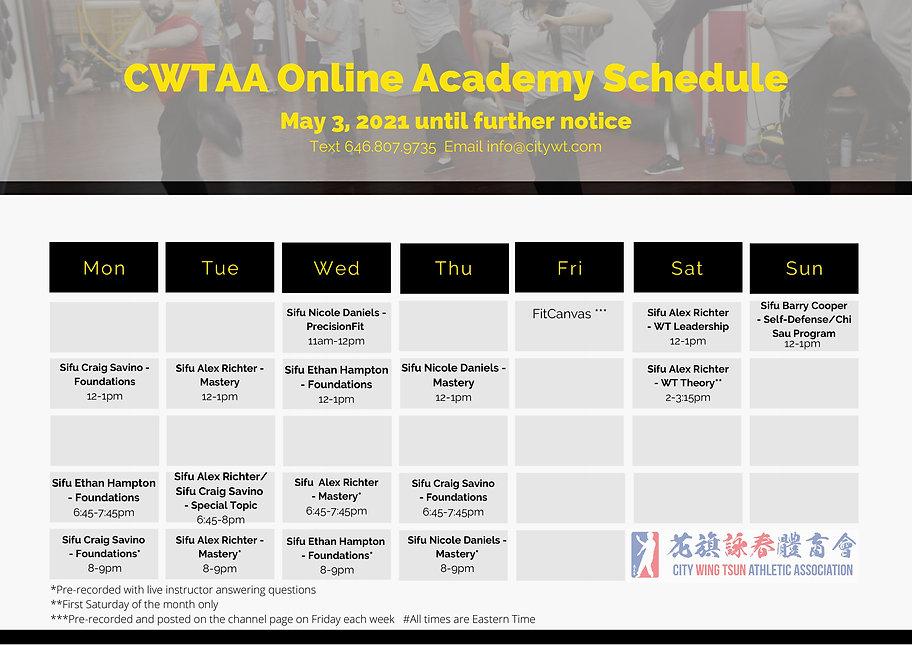 UPDATED-CWTAA Online Academy Schedule.jp