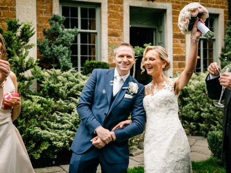 An elegant micro wedding at Dower House