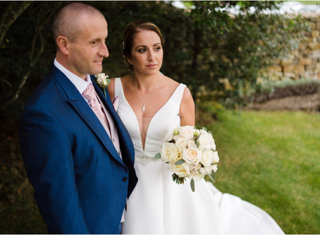 """Mr & Mrs S said """"I Do"""" at Dodford Manor"""