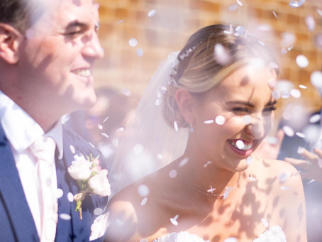 Holly & Bobby got hitched at The Barns at Hunsbury Hill
