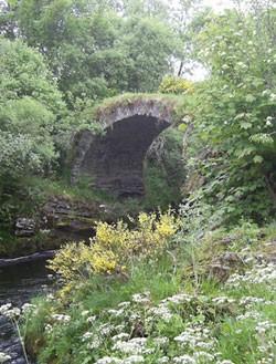 The Packhorse Bridge.