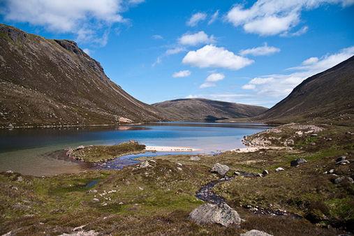 Loch Avon. Photo by Marcus Roberts