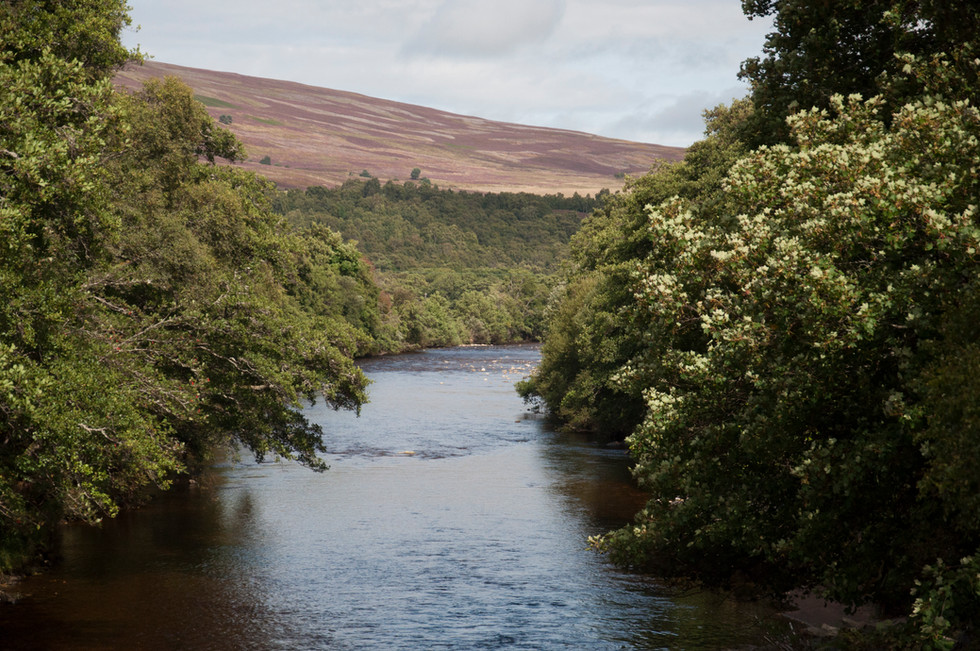 The river A'an.