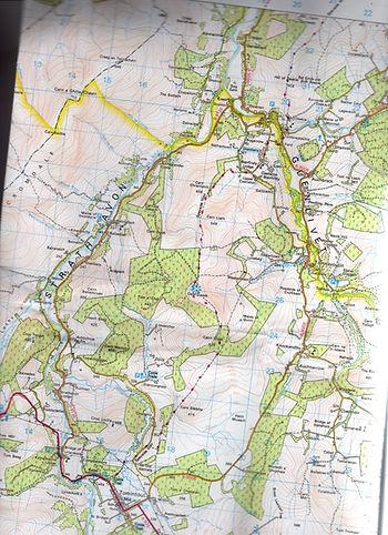 Map of Upper Strathavon
