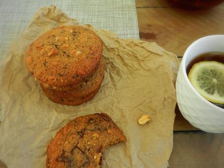 Rye and Spelt Chocolate Cookies