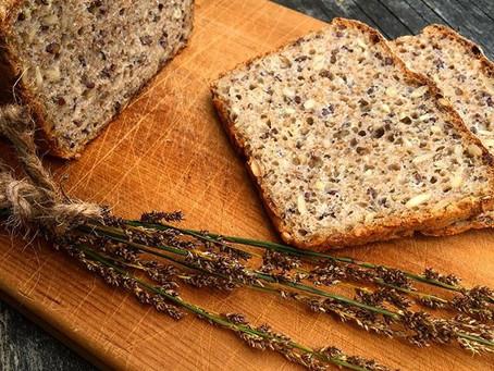 No fuss spelt wholesome  bread