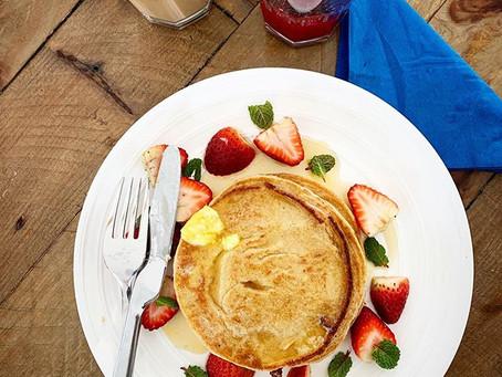 Perfect Quinoa Pancakes