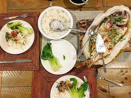 SHD How to: Bake a whole fish