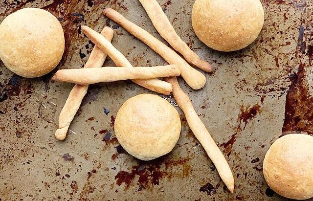 Baby bread sticks and rolls