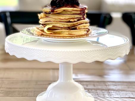 Vanilla Ricotta Pancakes