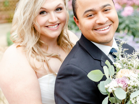 Phipps Conservatory Wedding: Susan and Brenton