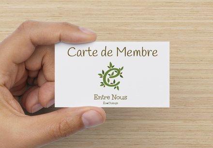 CARTE DE MEMBRE