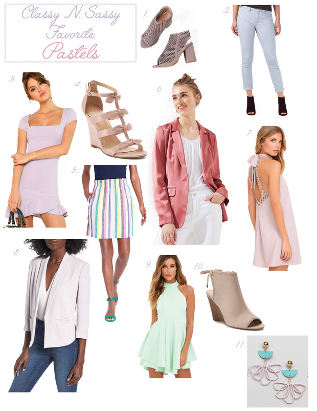 Season Favorite: Pastels