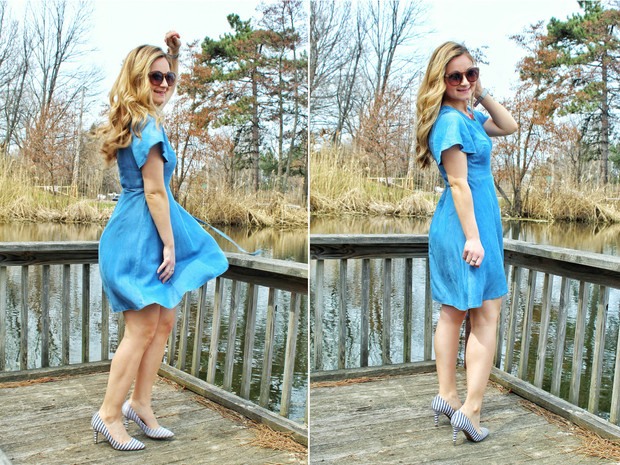The perfect Chambray Easter Dress