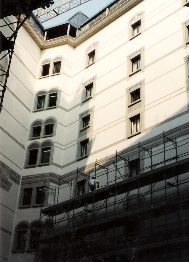 Hotel Principe di Savoia, Milano, collaborazione.