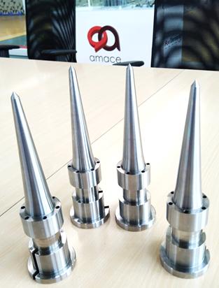 amace - metal additive manufacturing - Conformal cooling