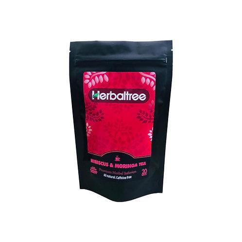 Hibiscus & Moringa Tea
