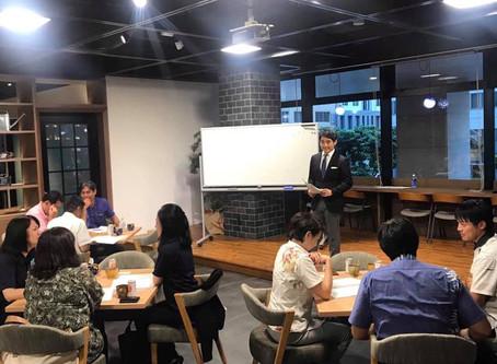 アドラー心理学・1on1コーチング講座@沖縄タイムス・アカデミア スタート!