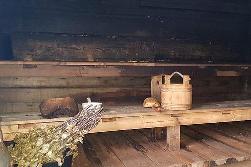 Saunamaksu 1 hlö || Pay sauna for 1 person