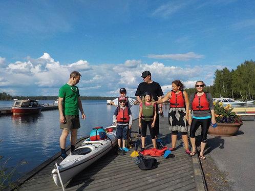 Pienniemi paddling tour (family price) ATTENDANCE FEE