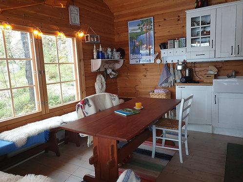 Pienniemi järvimökki maksu 1 yö/hlö || Pay 1 night in the lake cabin per person