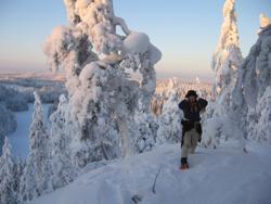 Tule kokemaan Saimaan talvinen taika Pienniemen retkisijalla,  Opas-Tiinan retkillä ja vaelluksilla