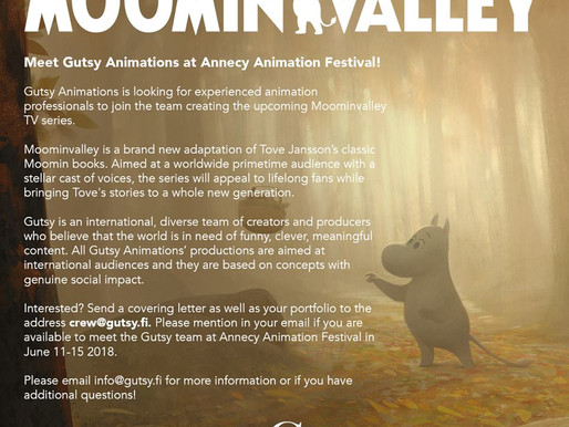 Meet Gutsy Animations at Annecy Animation Festival!