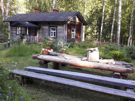 Nature, kayaking, music and wellbeing-week 30.7.-5.8.2020 at lake Saimaa, Puumala, Finland