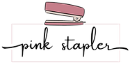 Pink Stapler logo - Business Networking Groups