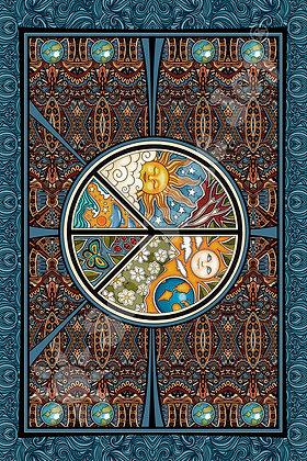 3D Dan Morris Peace Tapestry 60x90