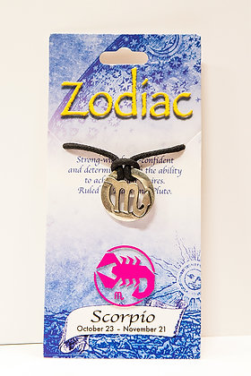 Zodiac Pendant Necklace - 12 Choices