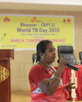 woman, speech, power, TB, health, comunity, women empowerment