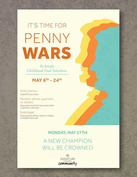 Penny Wars Poster