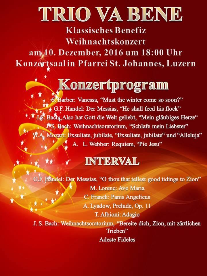 Konzertprogram