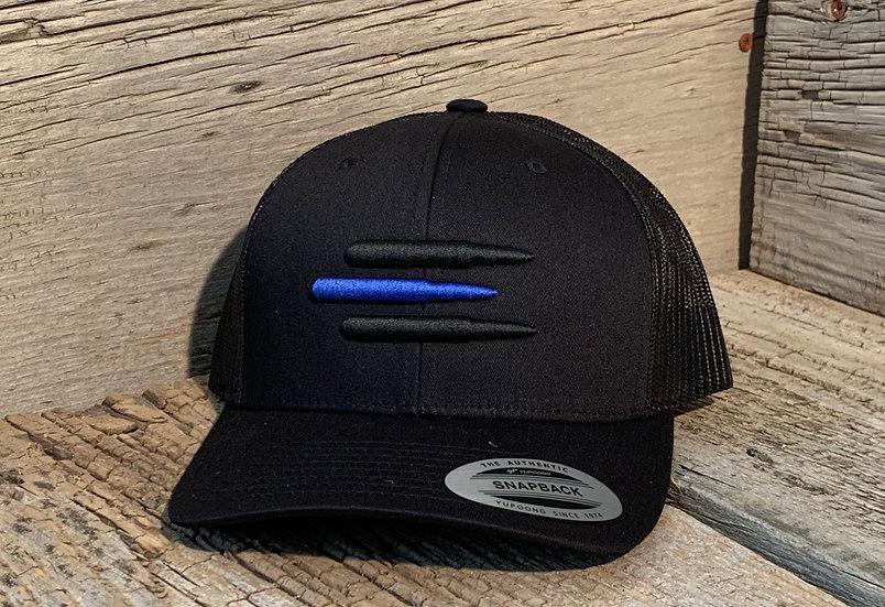 Mesh SnapBack Blue Line