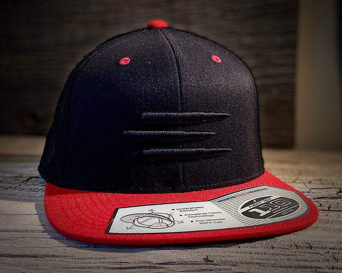Black Out Red Brim