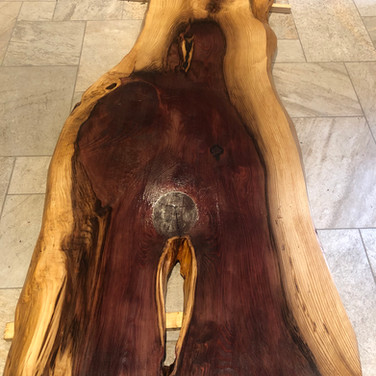 gorgeous Redwood dining table
