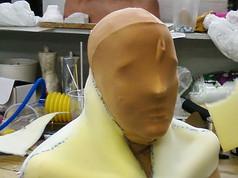 Fabricated neck