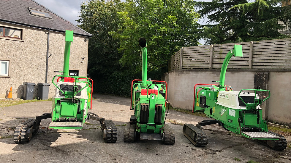 Ex Demo/used Greenmech Chippers