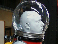 Helmet Mock Up in Shop