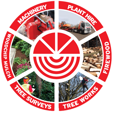 We do lots of things, timber products, tree surgery, tree surveys, crane hire, sales of firewood, woodchip mulch, forestry equipment including firewood processors, logsplitters, woodchippers, forestry cranes & trailers and much more - get in touch today to see how we can help you!