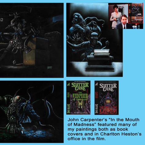 Mouth of Madness Paintings