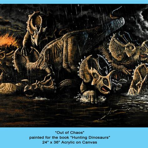 Chasmosaurus Stampede