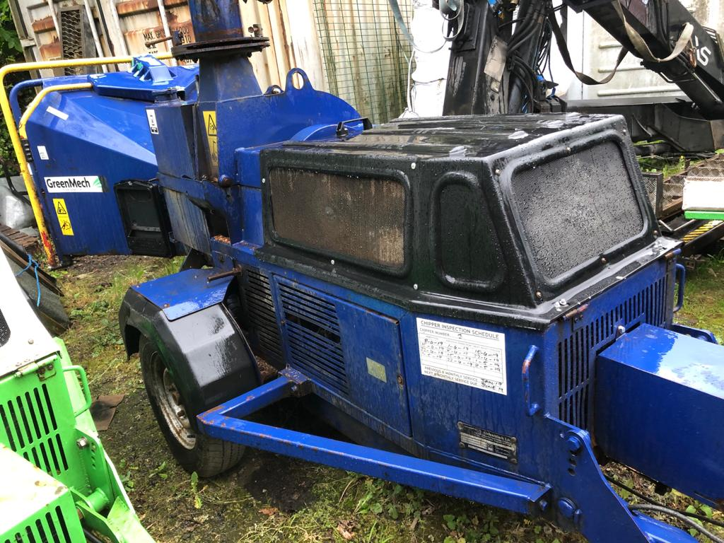 Second hand chippers available