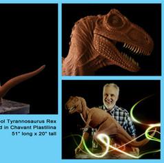 My Vintage T-Rex sculpture