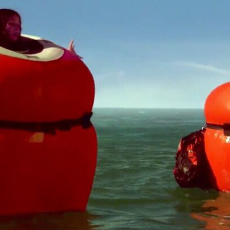 Inflated Inflate-a-Suits